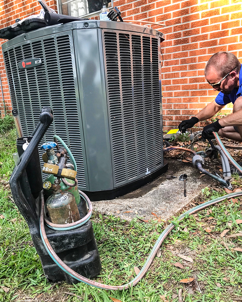 At Harris Heating and Cooling we proudly sell and service Trane Heating and Air Conditioning equipment.